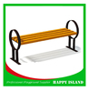 2015 hot new design Chinese manufacturer factory directly benches for public park wood bench furniture