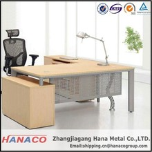 high end office executive desk l shape office table reception desk