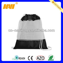 nylon polyester drawstring mesh bag