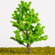 architectural scale model, realistic architectural scale model tree, 1:100 1:87