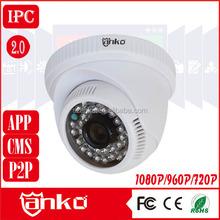 CCTV ahd dome Camera rohs surveillance system