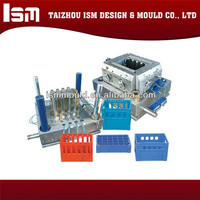 China Manufacturer Different Type Crate Injection Plastic Mould