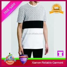 Wholesale plain white Big tall 100% cotton t shirts for men China supplier