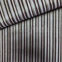 Polyester stripe pattern chenille fabrics wholesale
