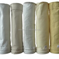 PPS dust filter bag for baghouse for cement industry