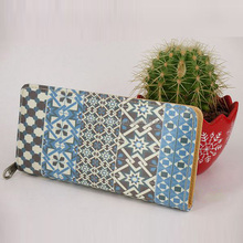 2015 Trend Pattern Ladies Purse and Wallet China No M.O.Q.