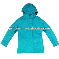 Fashion and colorful style women's winter jacket