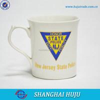 ceramic mug with superman logo