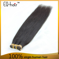 double weft full cuticle wholesale brazilian 100 human hair tape hair extensions for hair salon