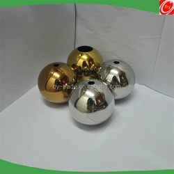 76mm AISI304 wedding decoration garden decoration gold plated christmas ornament ball