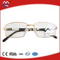 transparent spectacle frame