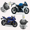 New energy motorcycle accessories led motorcycle headlight 30w H4 H6 H 7