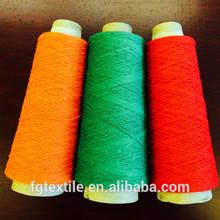 reciclado teñido de hilados cardados para tejer