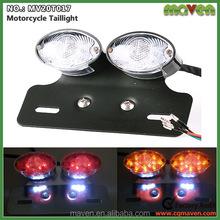 Custom Cat Eye Motorcycle LED Brake Taillight With Turn Signals Light MV20T017