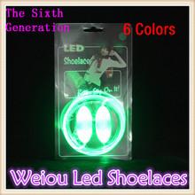 2015 Colorful flashing led shoelace glowing led shoe lace super bright
