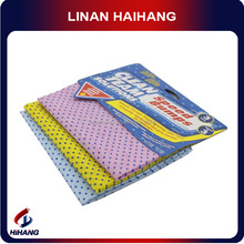 China OEM manufacturer factory pe dots silicone cleaning cloth