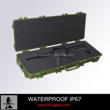 high impcat material tactical gun case for outdoor army