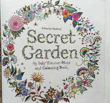 2015 Hot Sale Secret Garden Book Printing Childen's Funnest Fantastic Fairyland Hard Cover Hand Printing Relax Coloring Book