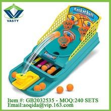 plastic sport game toy mini table basketball game