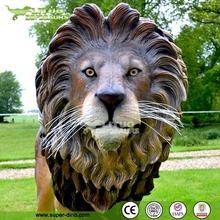 Real-like Lion Statue