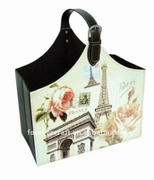 FOLDABLE CARRY SHOPPING BASKET