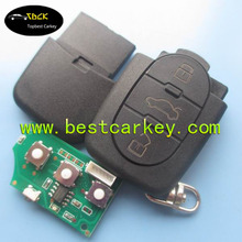 TOPBEST 1JO 959 753 A VW key 2 button remote unit 433MHZ carkey