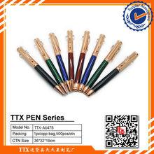Fancy low price metal ball pen pen refills