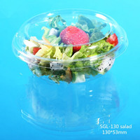 Hot china wholesale transparency plastic salad packaging bowl