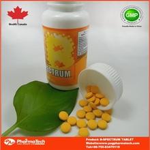 Private label OEM tablets vitamin b c complex