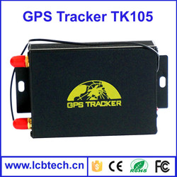 Newest GPS105-A/B with Camera Vehicle GPS Tracker, Relay for Stopping Engine, External GPS &GSM Antenna with 2 SIM card