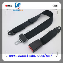Hot selling two- point car safety belt and safety harness parts name