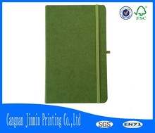 2015 hotsale refillable soft leather cover pocket notebook