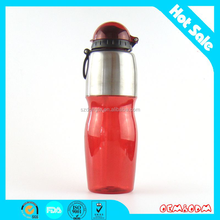 Bajo precio promocional botella del deporte red bull botella del deporte