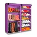 sw muebles para el hogar de almacenamiento dormitorio de metal ajustable organizador de zapatos en bastidores de destino