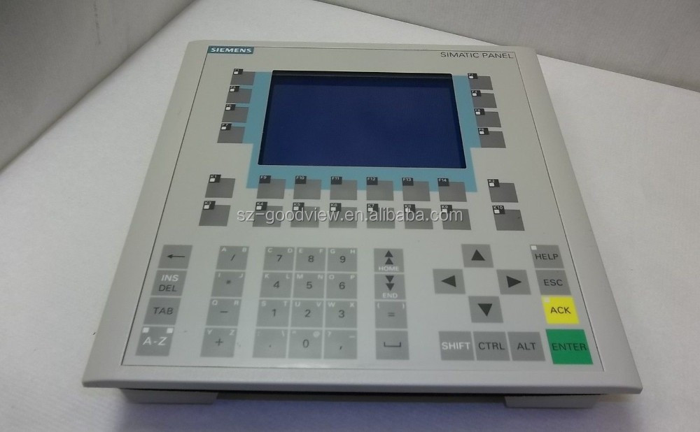 Siemens 6AV6542-0BB15-2AX0 Simatic Operator Interface Panel OP170B (PLC2396)