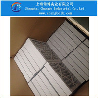 synthetic fan panel filters/pleated air filters Merv 8