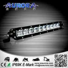 high quality LED chip cheap sell 10inch single row led light bar off road 4x4 go karts