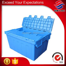 Lid attached plastic container for 10kg