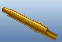 copper/brass spring contact probe pogo pin