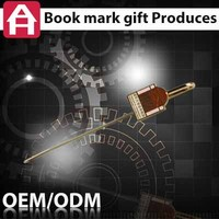newest die casting olympic souvenir metal book marker