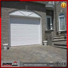 Superlift steel flat garage door panel / car entry garage door
