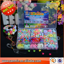 Plastic bead clear box be designed co for kids