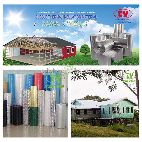 Thermal Insulation Materials Aluminum Foil With Bubble