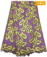 Purple so pretty Korea lace fabric wholesale H225