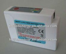Smart li-polymer battery 7.4V/man sportwear battery heated jacket