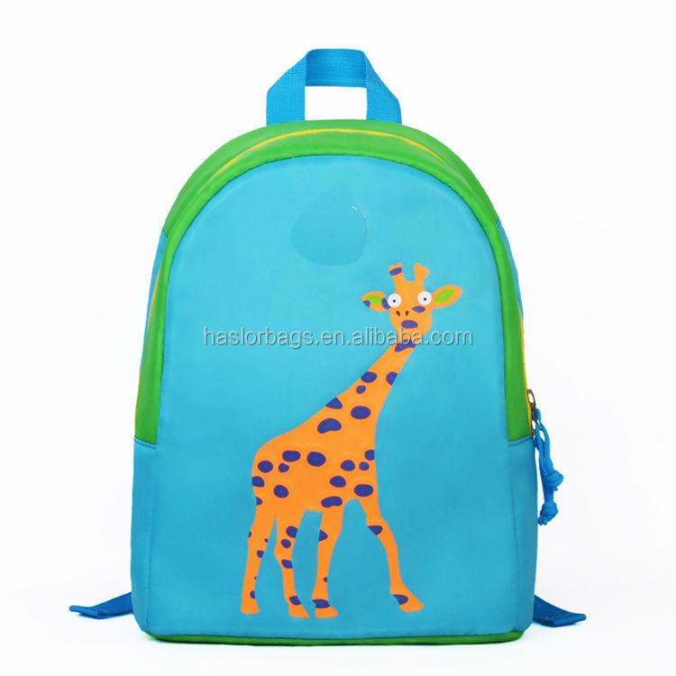 Nouvelle conception belle coréenne mignon toile sacs à dos pour enfants