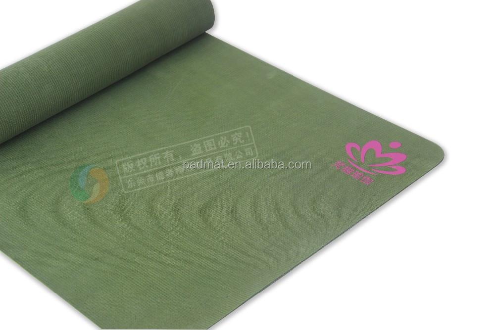 Custom Printed Natural Rubber Dance Mat Yoga Mats With
