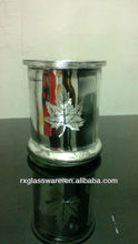 2013 Hot Sales Classic silver maple leaf And For Candle Holders