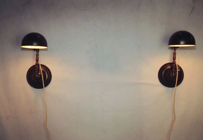 Wall Mounted Adjustable Lamps : Antique Adjustable Wall Mounted Lamp Black Iron, View antique mounted lamp, Garsh Product ...