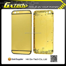 Gold Plated for iPhone 6 Plus Housing, Back for iPhone 6 Plus Battery Case Back Panel in Cheap Price